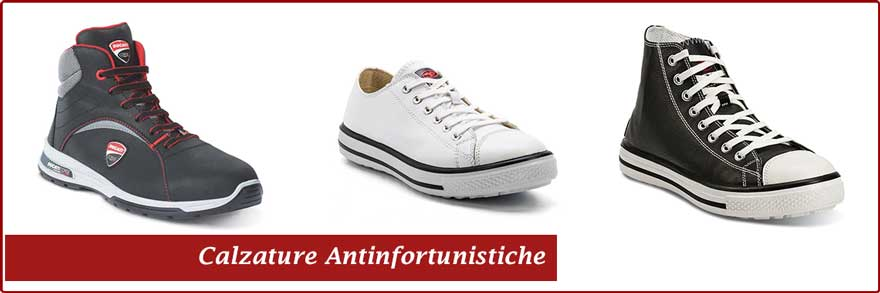 Calzature antinfortunistiche